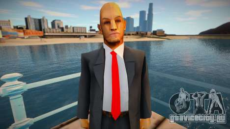 Hitman Model для GTA San Andreas