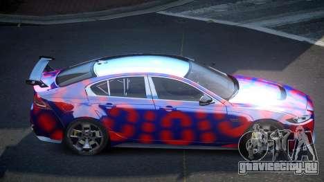 Jaguar XE GST S8 для GTA 4