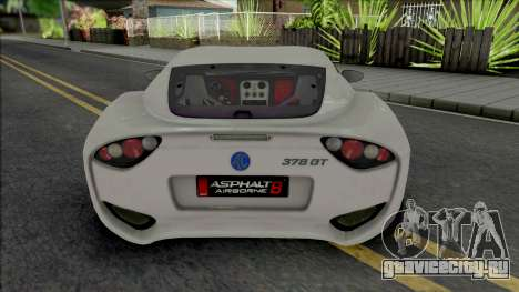 AC 378 GT Zagato [VehFuncs] для GTA San Andreas