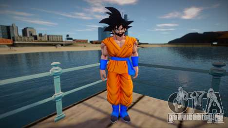 Goku beard для GTA San Andreas