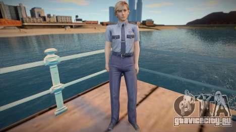 Rita Phillips RPD - Resident Evil Outbreak для GTA San Andreas