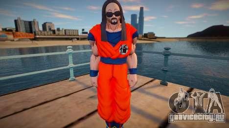 Steve Aoki from Dragon Ball Xenoverse 2 для GTA San Andreas
