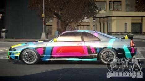 Nissan Skyline R33 US S5 для GTA 4