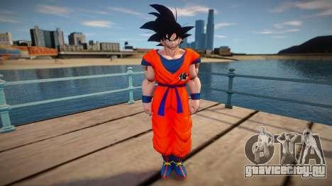 Goku skin для GTA San Andreas