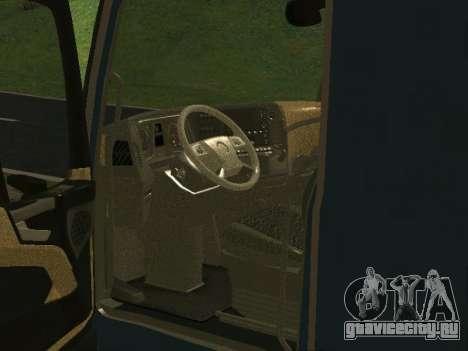 Mercedes Benz Actros 1863 EURO6 для GTA San Andreas