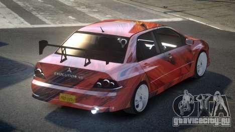 Mitsubishi Lancer VII PSI-U S3 для GTA 4