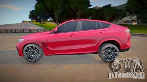 BMW X6M Competition 2020 (good model) для GTA San Andreas