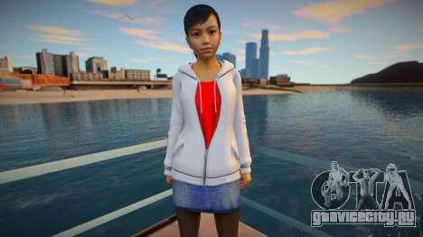Haruka Sawamura - Yakuza 5 для GTA San Andreas