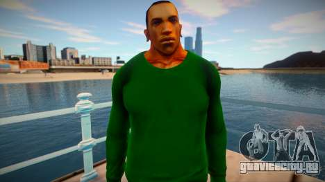 СJ 2015: Skin preview (Grove Style) для GTA San Andreas