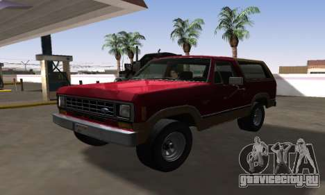 Ford Bronco XLT 1982 для GTA San Andreas
