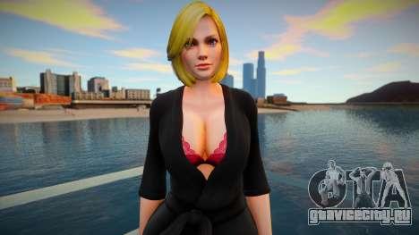 DOA Tina Armstrong Fashion Casual V3 Slumber Par для GTA San Andreas