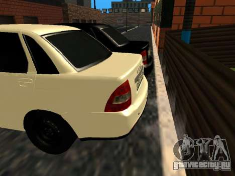 ЛАДА 2170 SE Facelift 2015 для GTA San Andreas