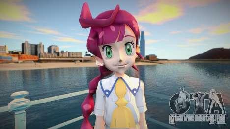 Pokemon Journeys Chloe V3 final для GTA San Andreas