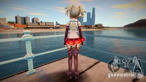 Megadimension Neptunia Collab Makers - GodEat v2 для GTA San Andreas
