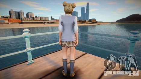 DoA5:LR Marie Rose - Starlight Vest для GTA San Andreas
