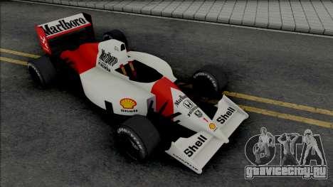 McLaren MP4-6 Ayrton Senna (Formula 1) для GTA San Andreas