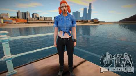 Girl from GTA Online DLC: Bikers для GTA San Andreas