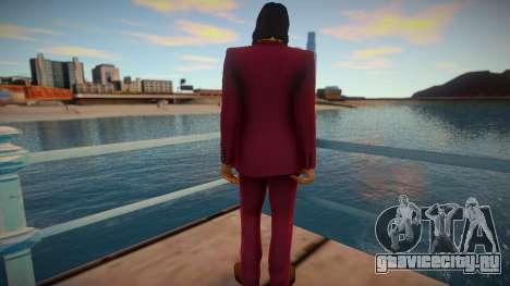 Akira Nishikiyama - Yakuza 0 для GTA San Andreas
