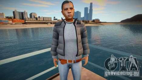 Девушка в куртке для GTA San Andreas