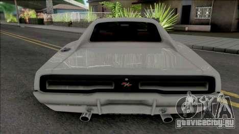 Dodge Charger RT 1969 White для GTA San Andreas