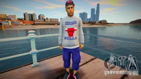 Dude Chicago Bulls style для GTA San Andreas