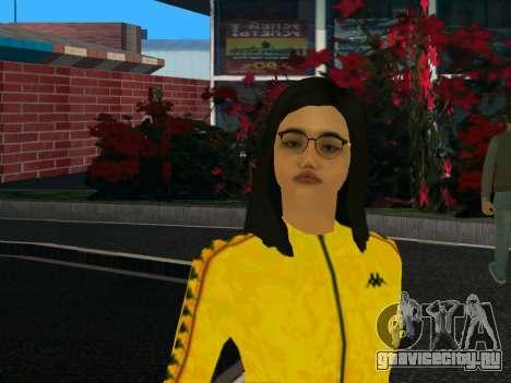 Симпатичная девочка Мика для GTA San Andreas