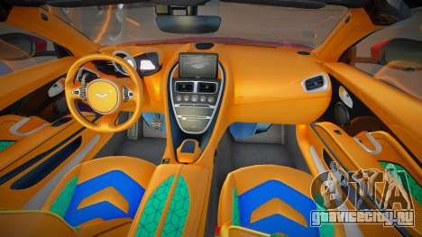 Aston Martin DBS Superleggera Volante 2019 для GTA San Andreas