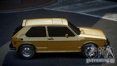 Volkswagen Rabbit GS для GTA 4