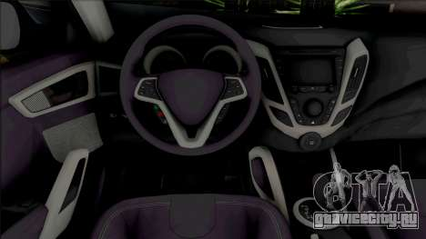 Hyundai Veloster [HQ] для GTA San Andreas