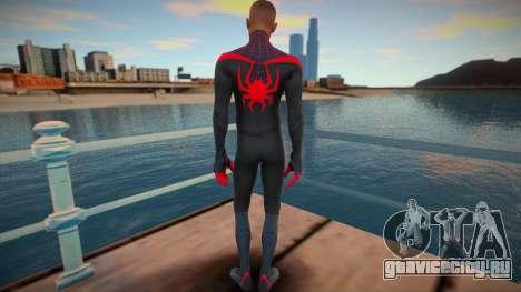 Miles Morales - Classic Suit v2 для GTA San Andreas