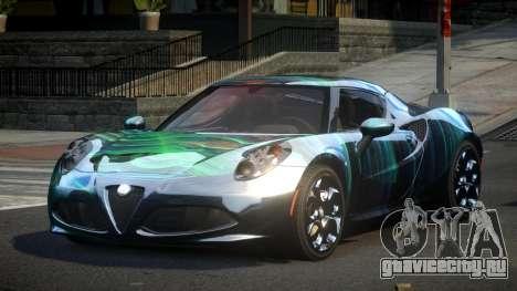 Alfa Romeo 4C U-Style S9 для GTA 4