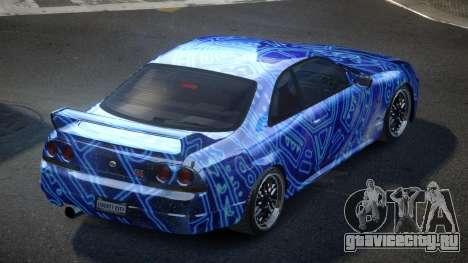 Nissan Skyline R33 US S9 для GTA 4