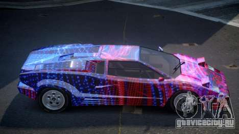 Lamborghini Countach GST-S S2 для GTA 4
