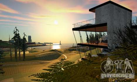 The Cliff House для GTA San Andreas