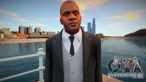Франклин в пиджаке для GTA San Andreas