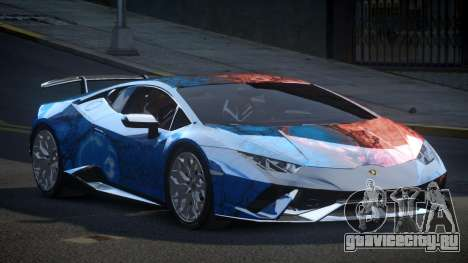 Lamborghini Huracan BS-Z S8 для GTA 4