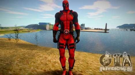 Deadpool skin для GTA San Andreas
