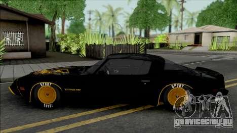 Pontiac Firebird Trans Am 1977 для GTA San Andreas