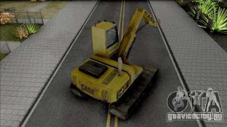 Hydraulic Excavator для GTA San Andreas