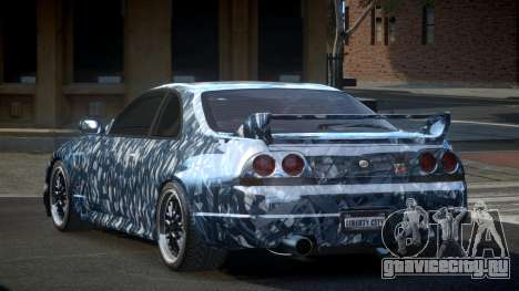 Nissan Skyline R33 US S7 для GTA 4