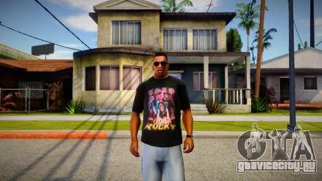 ASAP Rocky T-Shirt для GTA San Andreas