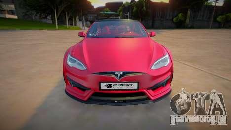 Tesla Model S P100 для GTA San Andreas
