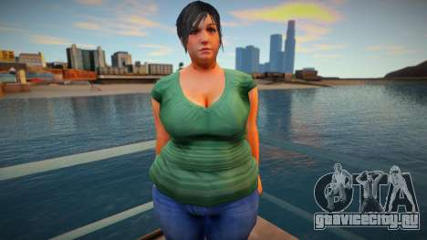 New CJ Girlfriends 2021 - Helena для GTA San Andreas