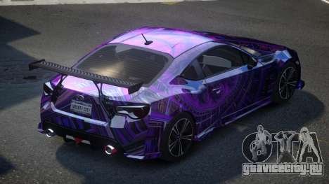 Subaru BRZ SP-U S3 для GTA 4