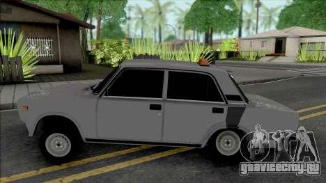 ВАЗ 2107 Taxi Style для GTA San Andreas