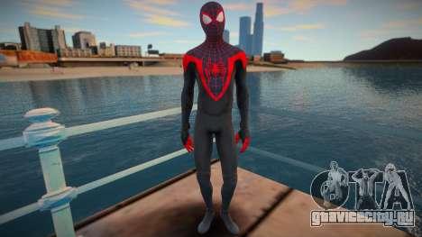 Miles Morales - Classic Suit v1 для GTA San Andreas