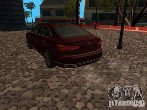 Volkswagen Passat 380TSI для GTA San Andreas