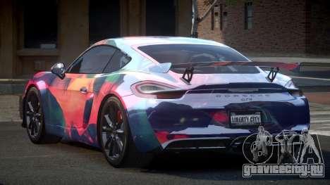 Porsche 718 Cayman GT4 S6 для GTA 4