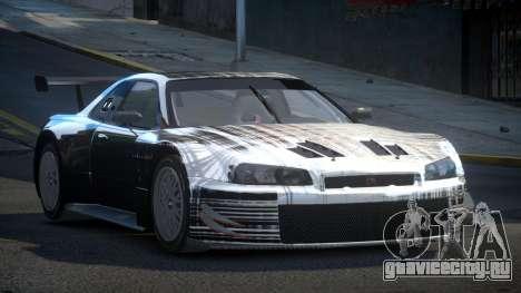 Nissan Skyline R34 US S5 для GTA 4