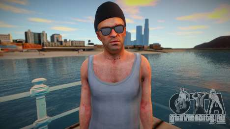 Trevor hipster style для GTA San Andreas